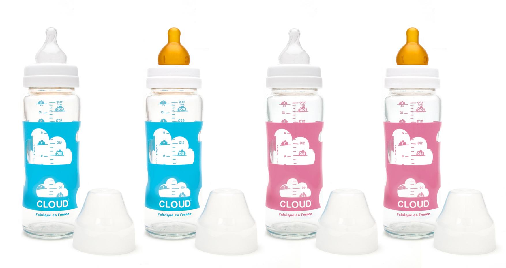 biberons en verre made in france biberons cloud. Black Bedroom Furniture Sets. Home Design Ideas